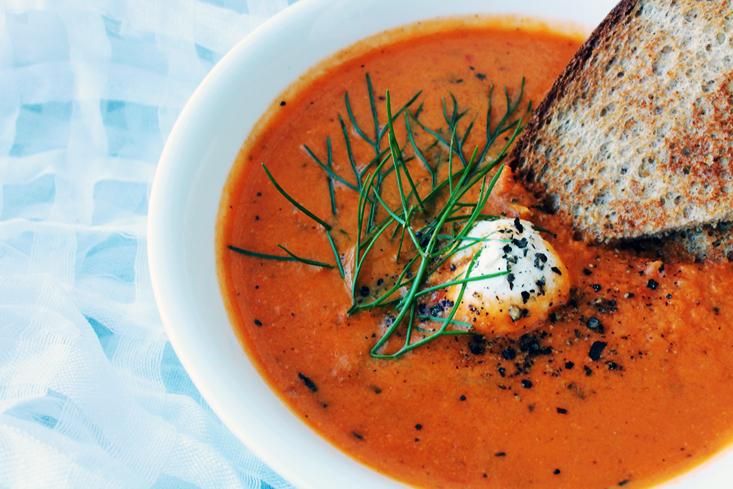 Tomato-fennel soup 2