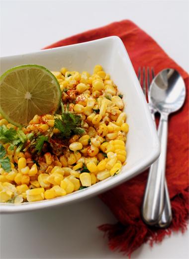 cilantro corn