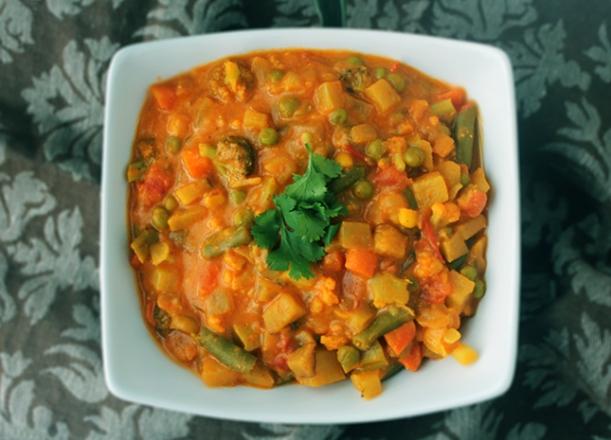 mixed veg subzi