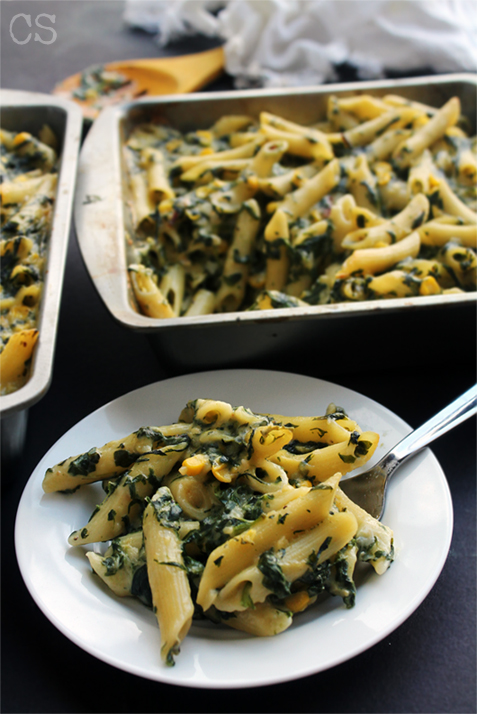 spinach mac and cheese2